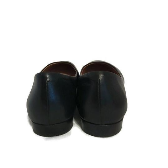 Lewit Leather Comfortable Classic Black Flats Image 8