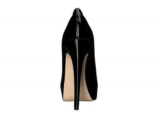 Brian Atwood Patent Leather Black Pumps Image 2