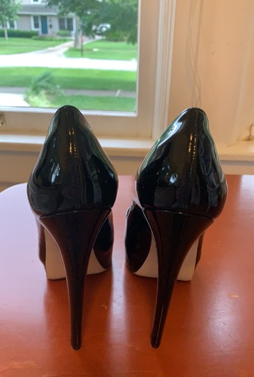 Brian Atwood Patent Leather Black Pumps Image 5