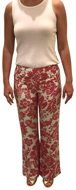 Item - Pink and Shell (Off-white) Garden Pants Size 2 (XS, 26)