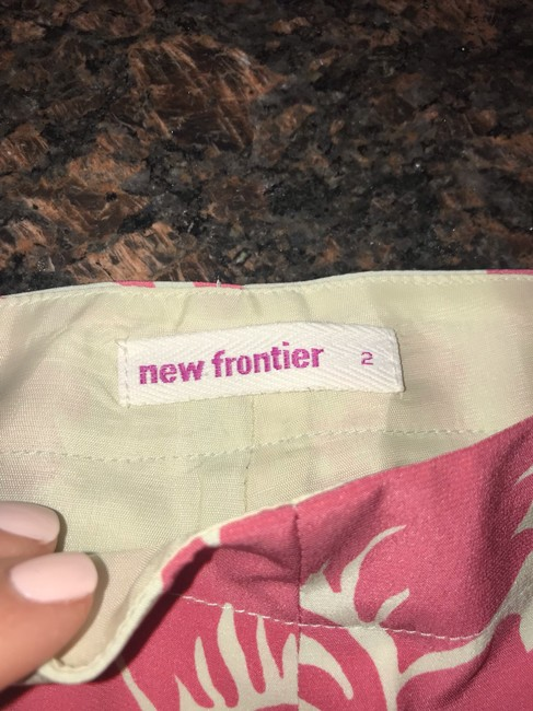 New Frontier Wide Leg Pants Pink and Shell (off-white) Image 6