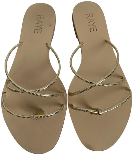 Preload https://img-static.tradesy.com/item/25619119/raye-gold-metallic-leather-crisscross-strappy-flat-sandals-size-us-6-regular-m-b-0-1-540-540.jpg