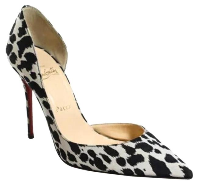 Item - Black and White Iriza Pumps Size EU 36 (Approx. US 6) Narrow (Aa, N)