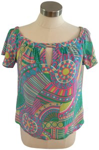 Alice & Trixie Top Multi Vibrant Colors