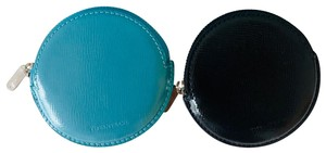 Tiffany & Co. Zip Coin Purse Jewelry Pouch Patent Leather