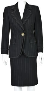 Escada Pinstriped with Double Lapels