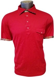 Robert Graham Man Polo Size 2xl Color T Shirt red