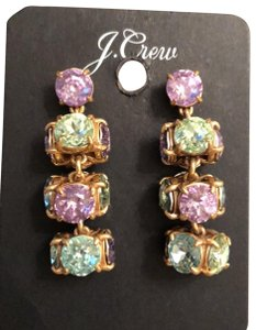 J.Crew Twisted Crystal Drops