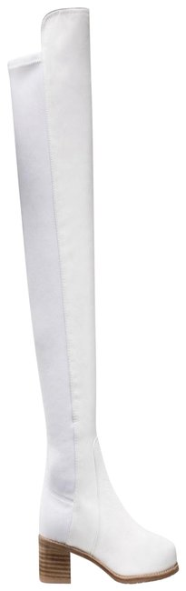 Item - Cream Reserve Over The Knee Boots/Booties Size US 6.5 Regular (M, B)