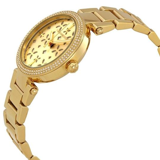 Michael Kors Michael Kors Women's Parker Gold-Tone Stainless Steel Watch MK6469 Image 3