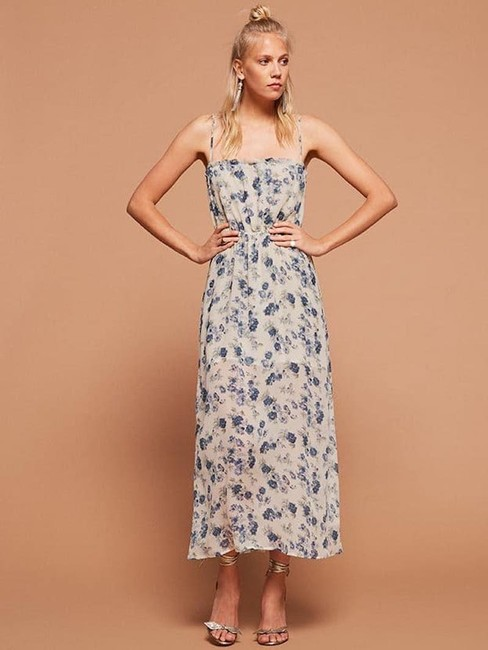 Blue Maxi Dress by Reformation Floral Image 1