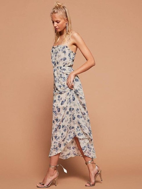 Blue Maxi Dress by Reformation Floral Image 2