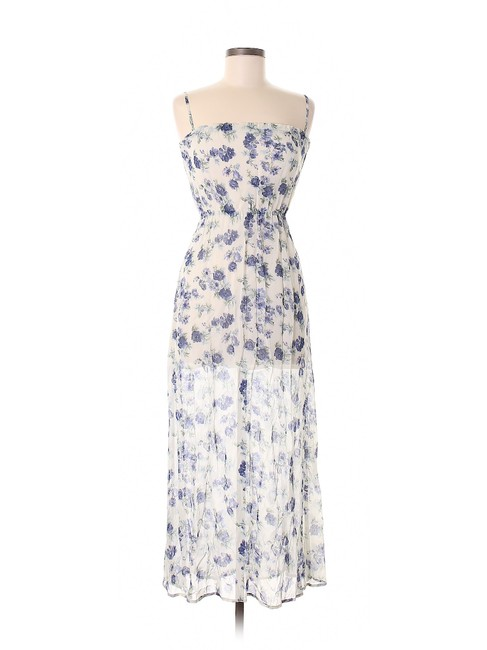 Blue Maxi Dress by Reformation Floral Image 5