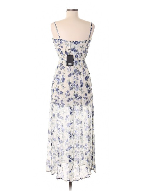 Blue Maxi Dress by Reformation Floral Image 6