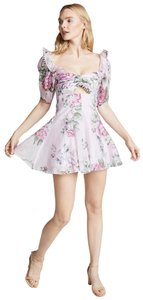 alice McCALL Puff Sleeve Garden Tea Party Frilly Dress