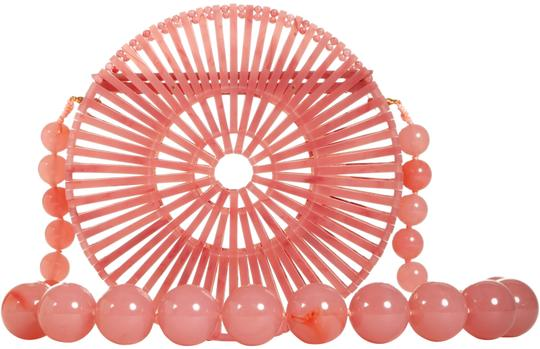 Preload https://img-static.tradesy.com/item/25620871/cult-gaia-luna-cherry-quartz-round-ark-bead-strap-pink-acrylic-shoulder-bag-0-1-540-540.jpg