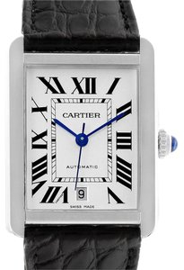 Cartier Cartier Tank Solo XL Automatic Date Stainless Steel Mens Watch W520002