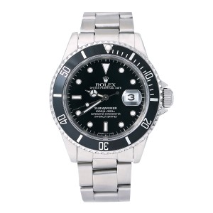 Rolex Rolex Submariner Date 16610 40MM Black Dial With Stainless Steel