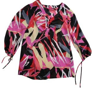 Sunny Leigh Crepe Vouge Top Multi