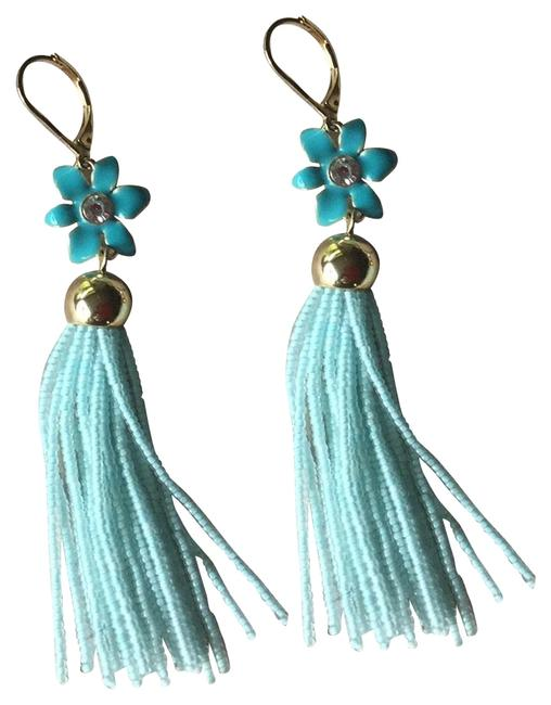 Kate Spade Turquoise Lovely Lillies Earrings Kate Spade Turquoise Lovely Lillies Earrings Image 1