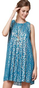 Sachin + Babi short dress Turquoise on Tradesy
