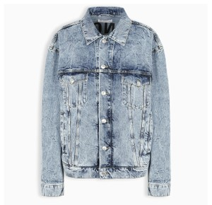 Balenciaga Light Blue Denim Womens Jean Jacket