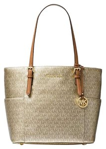 Michael Kors Tote in gold acorn multicolor