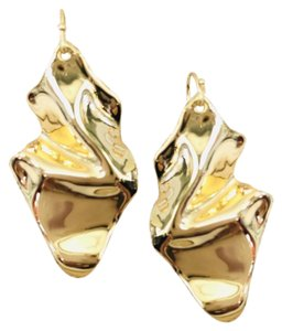 Alexis Bittar New Alexis Bittar Crumpled GOLD Wire Drop Earring