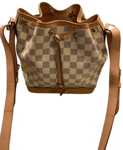 Louis Vuitton Damier Canvas Made In France Cross Body Bag