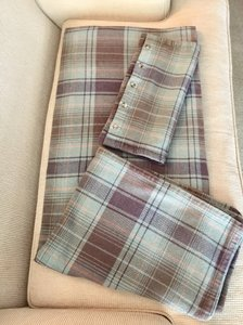 Ralph Lauren Rare Check Pattern Blanket & Cases