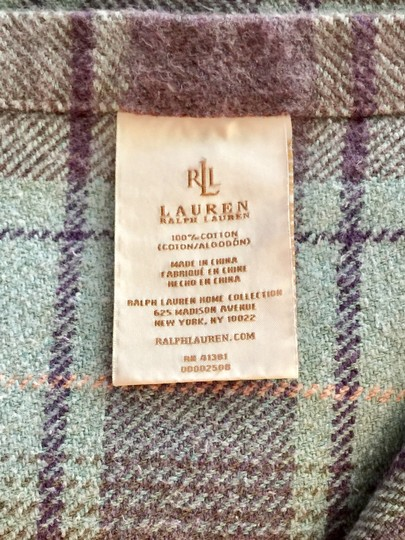 Ralph Lauren Rare Check Pattern Blanket & Cases Image 2
