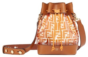 Fendi Mon Tresor Zucca Pvc Bucket Shoulder Bag