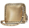 Gucci #511189 Moon Steller Gold/Black Leather Cross Body Bag Gucci #511189 Moon Steller Gold/Black Leather Cross Body Bag Image 2