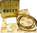 Gucci #511189 Moon Steller Gold/Black Leather Cross Body Bag Gucci #511189 Moon Steller Gold/Black Leather Cross Body Bag Image 8