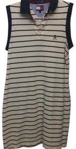 Tommy Hilfiger short dress blue and white on Tradesy