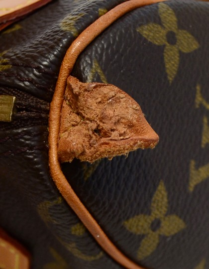 Louis Vuitton Speedy Mini Sac Hl Monogram Coated Canvas Satchel in Brown Image 7