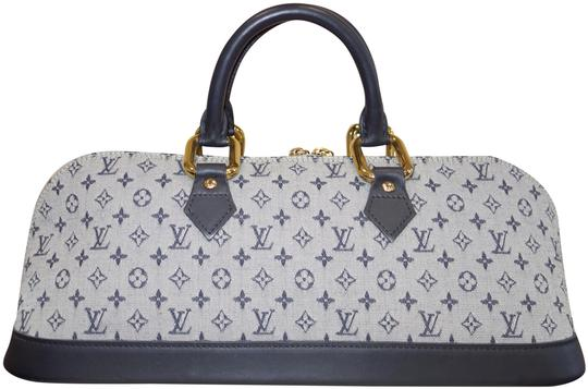 Louis Vuitton Tote in Blue and Grey Image 0