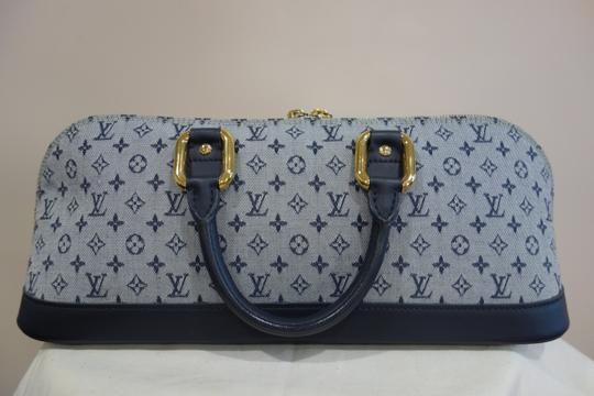 Louis Vuitton Tote in Blue and Grey Image 1