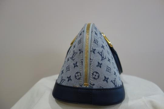 Louis Vuitton Tote in Blue and Grey Image 3
