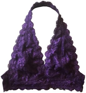 Free People Brand New Intimately Free People Purple Lace Bralette XS