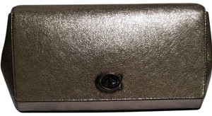 Coach Pewter Clutch