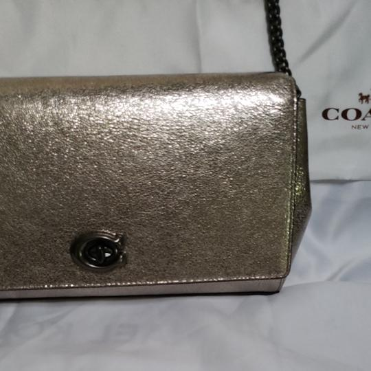 Coach Pewter Clutch Image 2