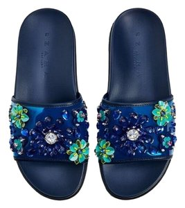 Zara Summer blue Sandals