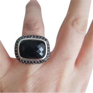 David Yurman David Yurman Waverly Limited edition Black Onyx Diamond Ring