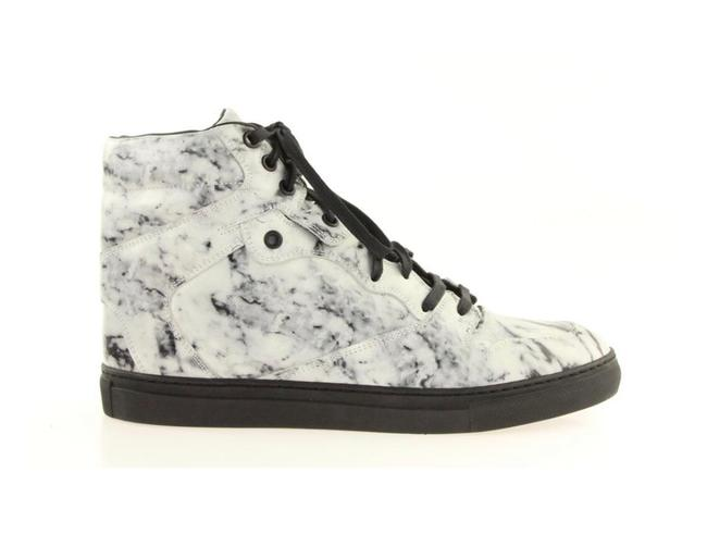 Item - Black and White/Marble Sneakers Boots/Booties Size US 10 Regular (M, B)