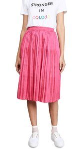 Endless Rose Pleated Stretch Skirt Pink