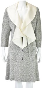 Douglas Hannant Wool and Silk with Organza Collar and Lapels