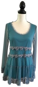 A'Reve Top Turquoise