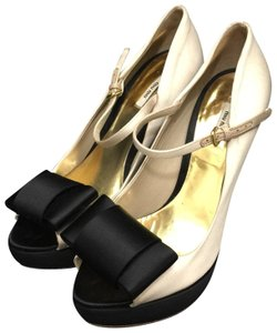 Miu Miu Champagne and Black Formal