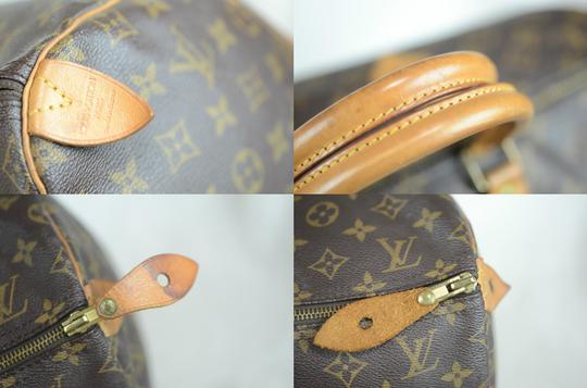 Louis Vuitton Speedy Monogram Canvas Tote in Brown Image 1